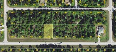 Port Charlotte Residential Lots & Land For Sale: 12214 Gulfstream Blvd