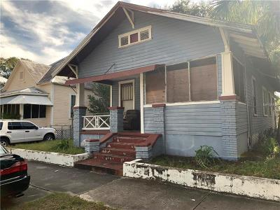 Tampa Single Family Home For Sale: 1932 W Spruce Street