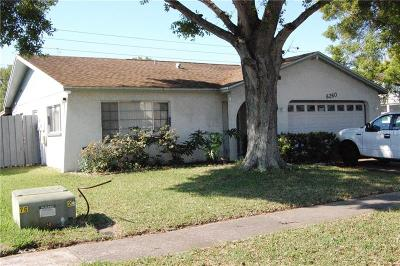 Pinellas Park Single Family Home For Sale: 6260 102nd Terrace N