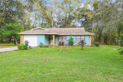 Pasco County Single Family Home For Sale: 6344 Boyette Road
