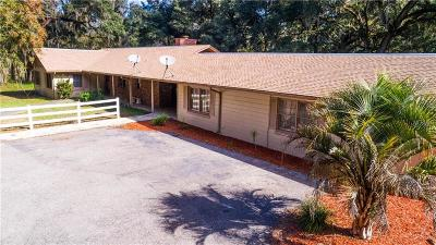 Brooksville Single Family Home For Sale: 6430 Quarterhorse Lane