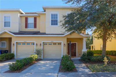 Hernando County, Hillsborough County, Pasco County, Pinellas County Townhouse For Sale: 12814 Belvedere Song Way