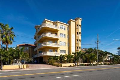Treasure Island Condo For Sale: 10133 Gulf Boulevard #E-4