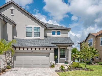 Wesley Chapel Townhouse For Sale: 4867 Wandering Way