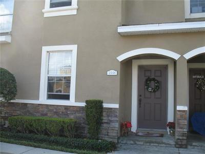 Plant City Townhouse For Sale: 2006 Greenwood Valley Drive
