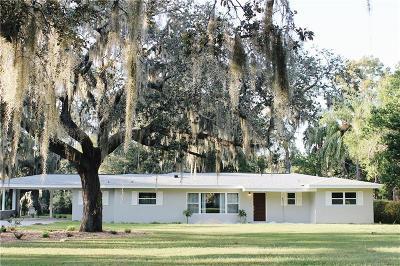 Temple Terrace Single Family Home For Sale: 11927 Riverhills Drive