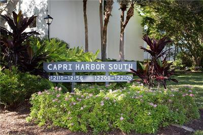Treasure Island Townhouse For Sale: 12140 Capri Circle S