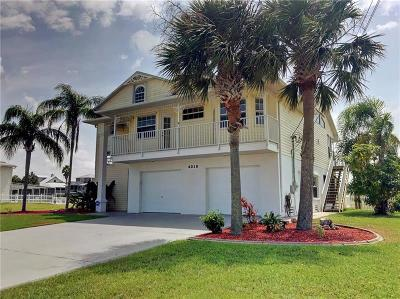 Pasco County, Hernando County Single Family Home For Sale: 4018 Cobia Drive