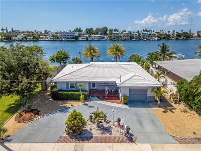 St Pete Beach Single Family Home For Sale: 9020 Gulf Boulevard