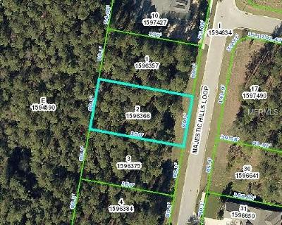 Brooksville Residential Lots & Land For Sale: 4893 Majestic Hills Loop