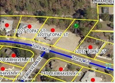 Spring Hill Residential Lots & Land For Sale: 12043 Topaz Street