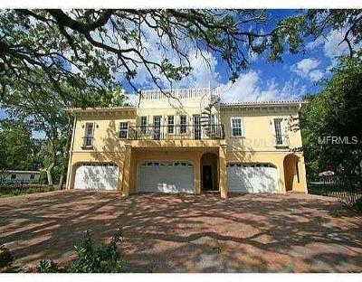 Tampa Townhouse For Sale: 5603 Bayshore Boulevard #C