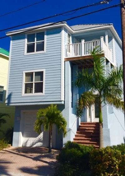 Treasure Island, St Pete Beach Single Family Home For Sale: 9300 Harrell Avenue