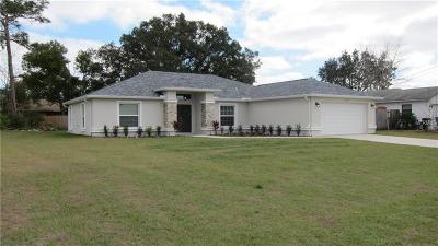 Spring Hill Single Family Home For Sale: 10424 Gifford Drive