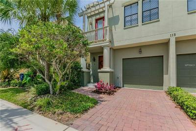 Tampa Townhouse For Sale: 113 S Packwood Avenue #D