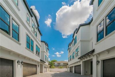 Tampa Townhouse For Sale: 310 S Habana Avenue #5