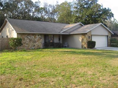 Ridge Manor Single Family Home For Sale: 6079 Fairway Drive