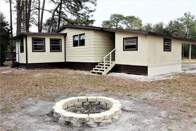Homosassa Mobile/Manufactured For Sale: 7785 W Twin Canal Lane