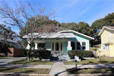 Tampa Single Family Home For Sale: 908 E Hamilton Avenue