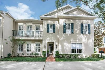 Tampa Townhouse For Sale: 5323 Bayshore Boulevard #C