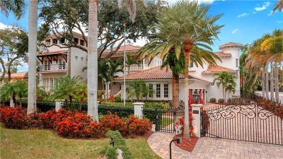 Tampa FL Single Family Home For Sale: $6,999,999