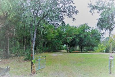 Crystal River Residential Lots & Land For Sale: 6596 W Gulf To Lake Highway