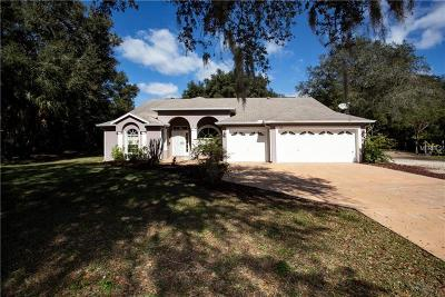 Wimauma Single Family Home For Sale: 1601 Butch Cassidy Trail