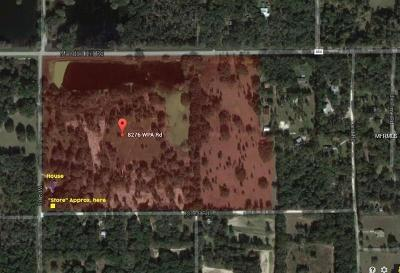 Brooksville Single Family Home For Sale: 8276 Wpa Road
