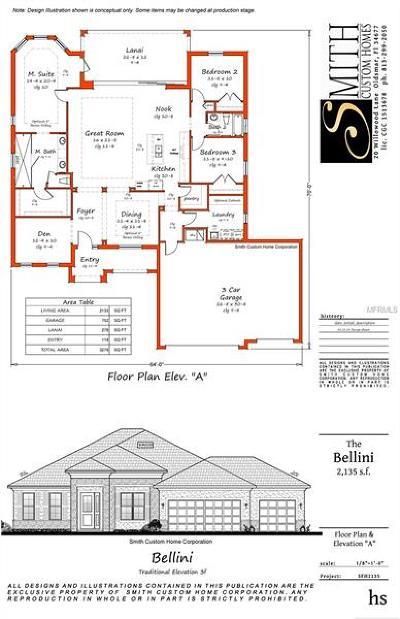 Land O Lakes, Land O Single Family Home For Sale: 0 Wilsky Road
