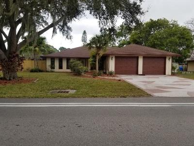 South Venice Single Family Home For Sale: 3271 Shamrock Drive