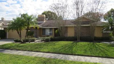 Tampa Single Family Home For Sale: 4109 Crosswater Drive