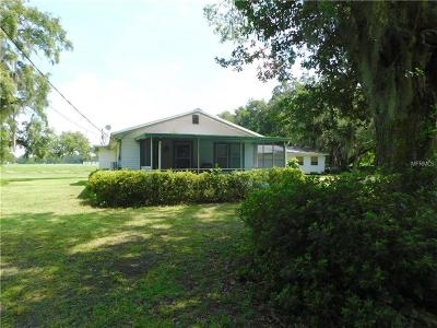 Plant City Single Family Home For Sale: 5102 Booth Road