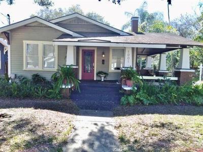 Hillsborough County Single Family Home For Sale: 1001 E Ellicott Street