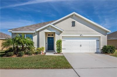 Wimauma Single Family Home For Sale: 16368 Treasure Point Drive
