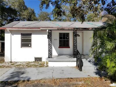 Tampa Single Family Home For Sale: 2313 W Clifton Street