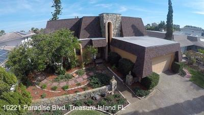 Treasure Island Single Family Home For Sale