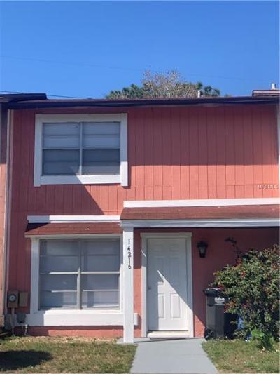 Townhouse For Sale: 14216 Village Terrace Drive