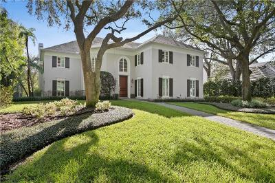 Tampa FL Single Family Home For Sale: $3,995,000