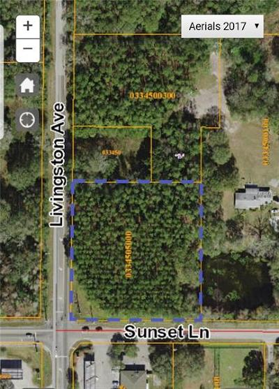 Lutz Residential Lots & Land For Sale: Livingston Avenue