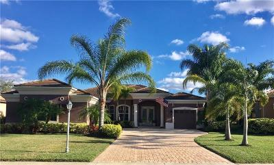 North Port Single Family Home For Sale: 3318 Bailey Palm Court