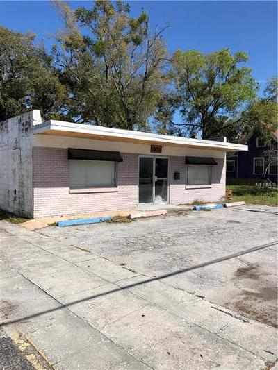 Tampa Commercial For Sale: 1327 & 1329 W Cass Street