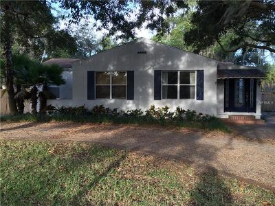 Tampa Single Family Home For Sale: 3409 S Drexel Avenue