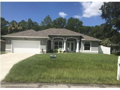 North Port Single Family Home For Sale: 5097 San Luis Terrace