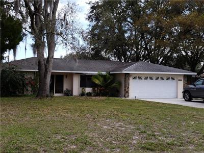 Zephyrhills Single Family Home For Sale: 35349 Janine Drive