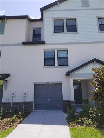 Port Richey Townhouse For Sale: 8694 Candida Lane
