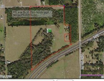 Pasco County Commercial For Sale: 30230 Johnston Road