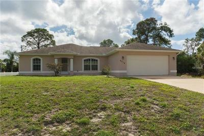 North Port Single Family Home For Sale: 4216 Fernway Drive