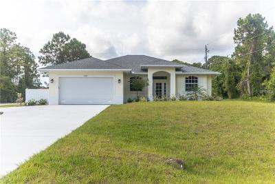 Port Charlotte Single Family Home For Sale: 5849 Gillot Street