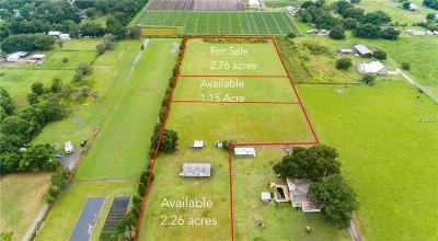 Plant City Residential Lots & Land For Sale: 0 Young Road