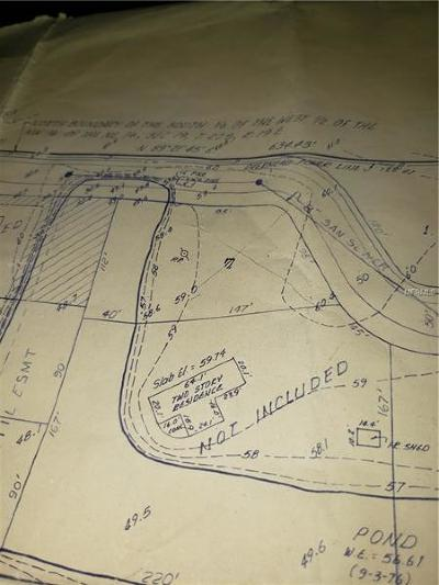 Lutz Residential Lots & Land For Sale: 1513-A Blind Pond Avenue